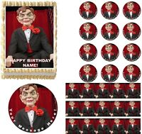 Goosebumps Slappy Dummy Doll Edible Cake Topper Image Frosting Sheet Cake