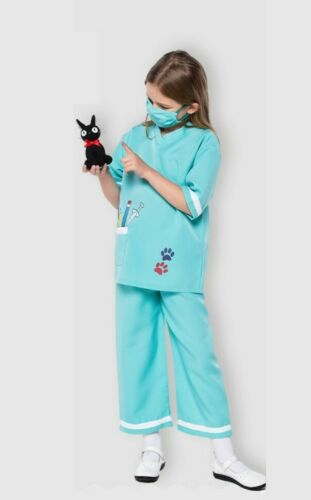 Child Nurse Doctor Girls Hospital Vet Costume Book Week Kids Fancy Dress Outfit