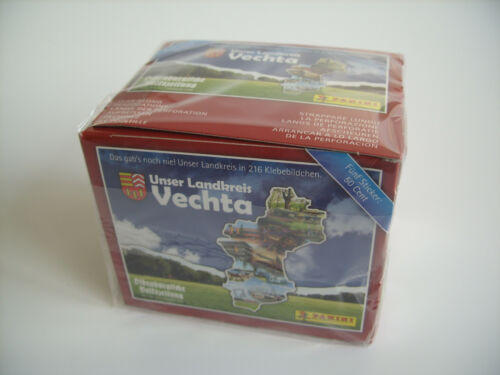 50 bolsas en el embalaje original Panini: nuestro país círculo Vechta top!!! display