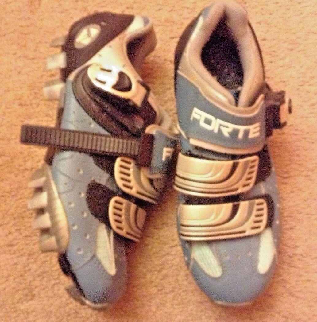 Forte CM300L bluee  Mountain Bike Cycling shoes, Women's US 4  lkn euc girl  promotional items