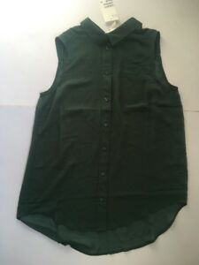 H-amp-M-SLEEVELESS-BLOUSE-SIZE-10-38