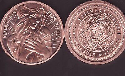 ANDREW JACKSON   1 oz Copper Round  MINI MINTAGE  #86  Silver Shield  2018
