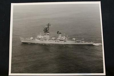 Warm And Windproof p1364 8' X 10' B & W Photo ddg-14 Military Ship Photo Uss Buchanan