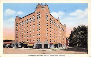 Image Is Loading Richmond Indiana Leland Hotel Huge Tree Shady