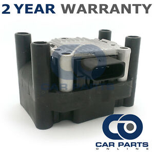 Para-Volkswagen-Lupo-1-0-Gasolina-1999-2005-Bloque-de-12-V-paquete-de-bobina-de-encendido