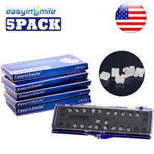 Mbtroth 022 Dental Ceramic Brackets Orthodontic Clear Braces 3345hooks 5packs