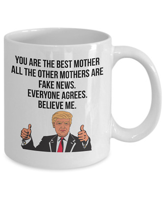 Funny Donald Trump Great Mom Coffee Mug Best Mothers Day ...