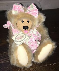 "Aggressive Nwt Kimbearly's Originals ""molly"" Bears 1st Edition #1161 Attractive And Durable"