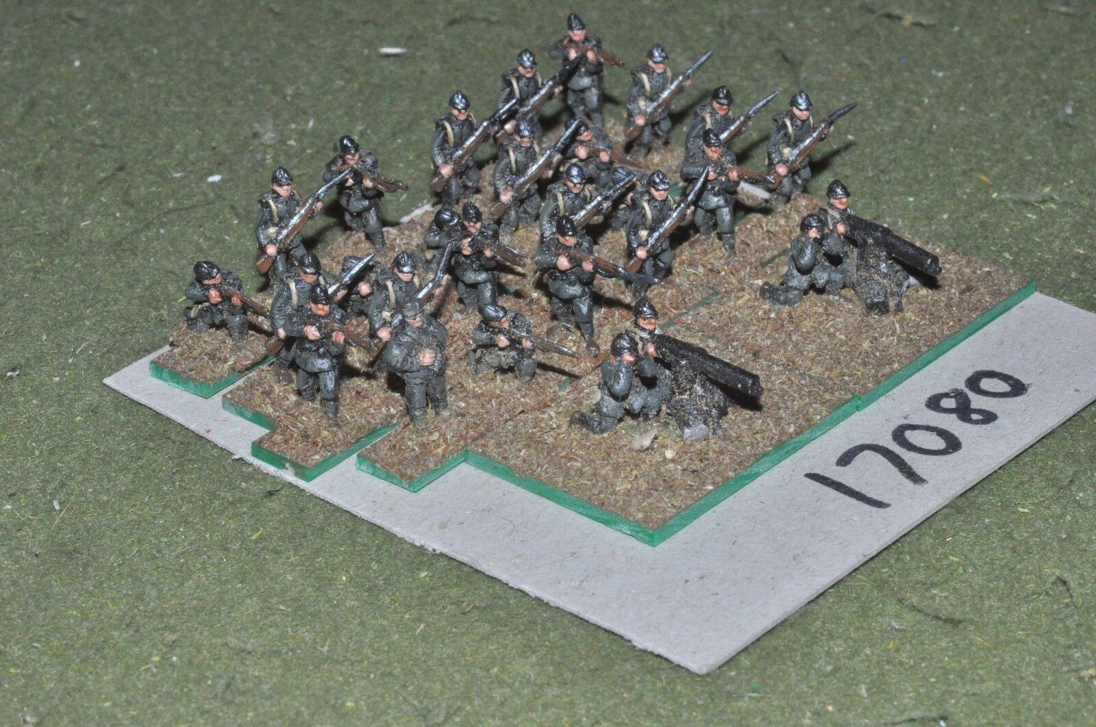 15mm WW1   italian - infantry 28 figures - inf (17080)