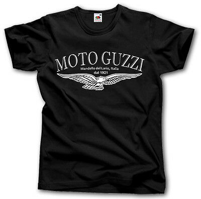 MOTO GUZZI MOTORCYCLE SHIRT S - XXXL MANDELLO DEL LARIO MOTORRAD 1921 BIKER