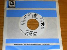 "PROMO 60's ROCK 45 RPM - TOMMY ROE - ABC 11229 -""TIP TOE TINA"" + ""JACK AND JILL"""