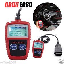 OBD2 OBDII EOBD Scanner Car Fault Code Reader Data Tester Scan Diagnostic Tool