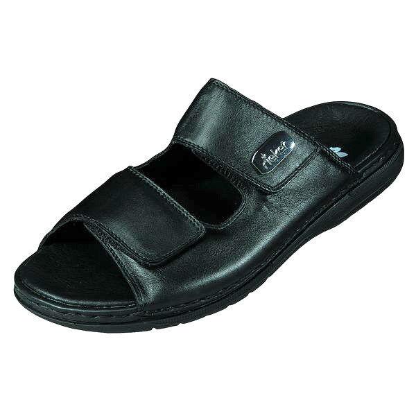 Rieker Schuhe Leder, Herren Schuhe Sandale Pantolette, Leder, Schuhe Gr.40-45 +NEU ++ 25590-00 05126f