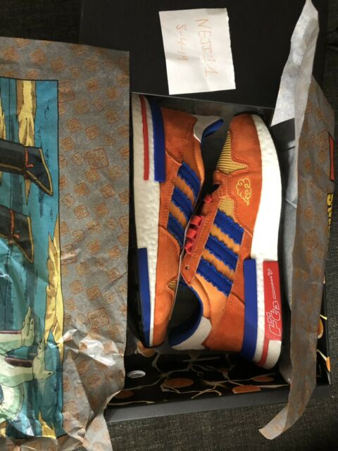 super popular 53c67 16569 Brand New Adidas Zx 500 Rm Dragon Ball Z Goku D97046 Size 7.5