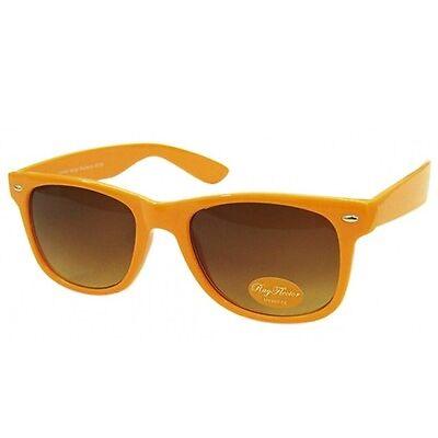 Retro Fashion Designer Geek Nerd UV Ray 400 Lens Sunglasses Rave Large Ban Frame