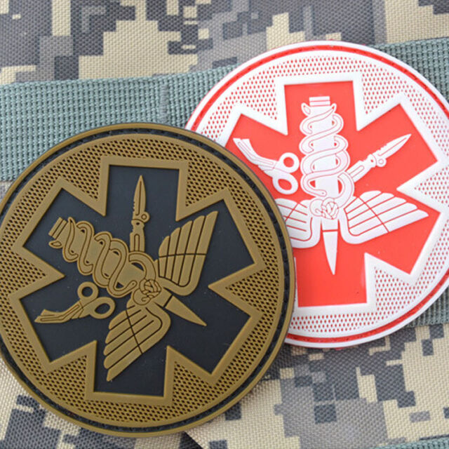 Original 3d Medic Red Cross Patch Reflective Emt Ir Patches Military Tactical Morale Patch Rubber Biker Fastener Pvc Glow In Dark Badges Rock & Pop Music Memorabilia