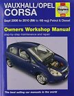 Vauxhall/Opel Corsa Service and Repair Manual by Haynes Publishing Group (Paperback, 2014)
