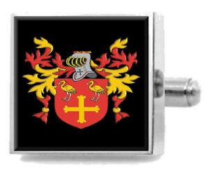 Theakston England Familie Wappen Familienname Manschettenknöpfe Personalisierte
