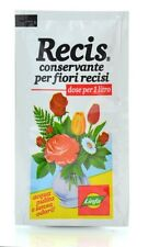 2 x 10 gr RECIS conservante per fiori recisi