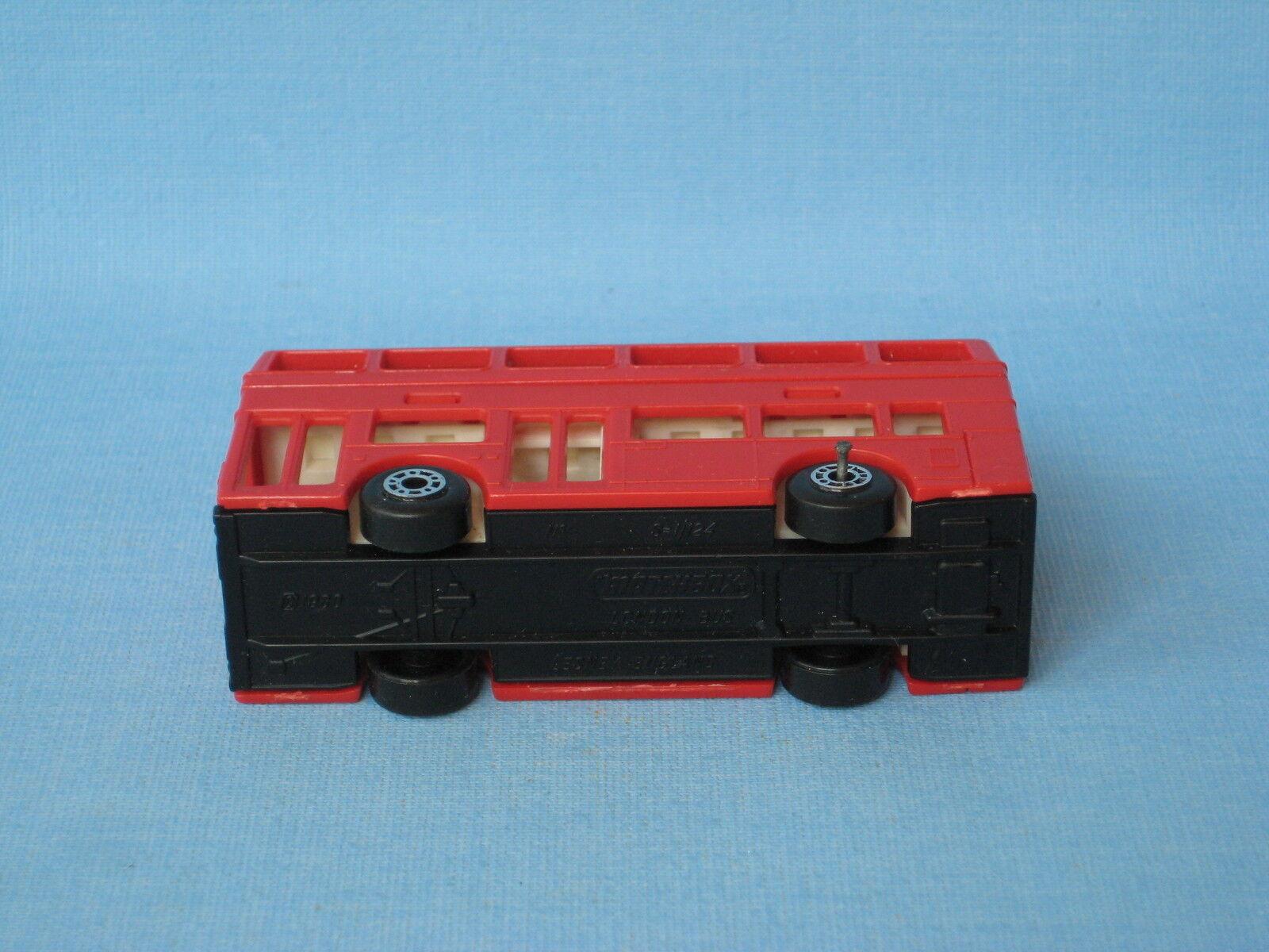 Joyeux Noël, bon bon bon shopping Lesney matchbox titan bus londonien plastique corps pré-production rare   Techniques Modernes    Structurels élégantes  f18f3e