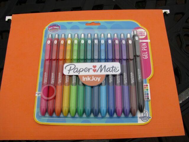 Brand New - Papermate InkJoy Gel Pens, Medium  Point 0.7 mm, 14 pens