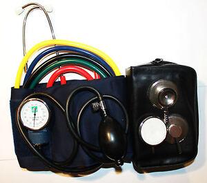 Notfalltasche-Blutdruckmessgeraet-Blutdruckmesser-mit-und-Stethoskop