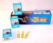 PUKE PRANK ROTTEN EGG FART SMELL STINK BOMBS 15 VIALS - 5 BOXES of 3