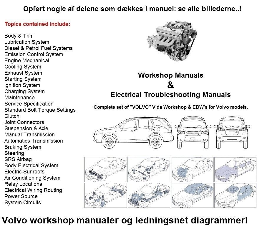 Volvo , Reparations Service Manual
