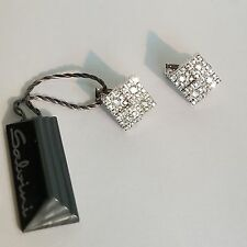 Salvini 18 kt White Gold Earrings Diamonds New! Final Sale!!!!!!  $7,995