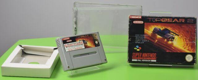 Top Gear 2 Super Nintendo SNES OVP Sammlung