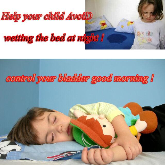 Adult Baby Bedwetting Urine Alert Enuresis Bed Wetting Alarm Sensor Clamp  Probe