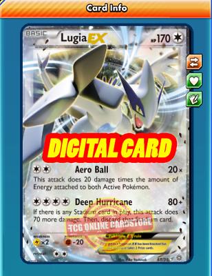 Virizion EX 9//101 for Pokemon TCG Online PTCGO, Digital Card