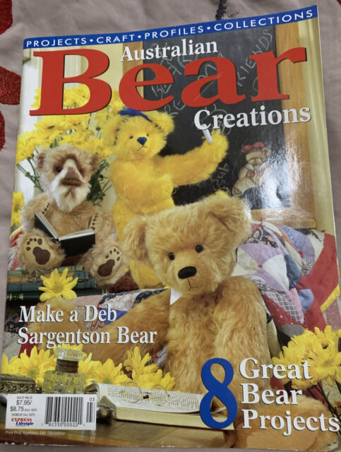 Bears to Love Bear Clothes Bear Sewing Patterns Sensational Bear Pattern Bear Creations Annuals LOT 4 Australian Bear Pattern Magazines