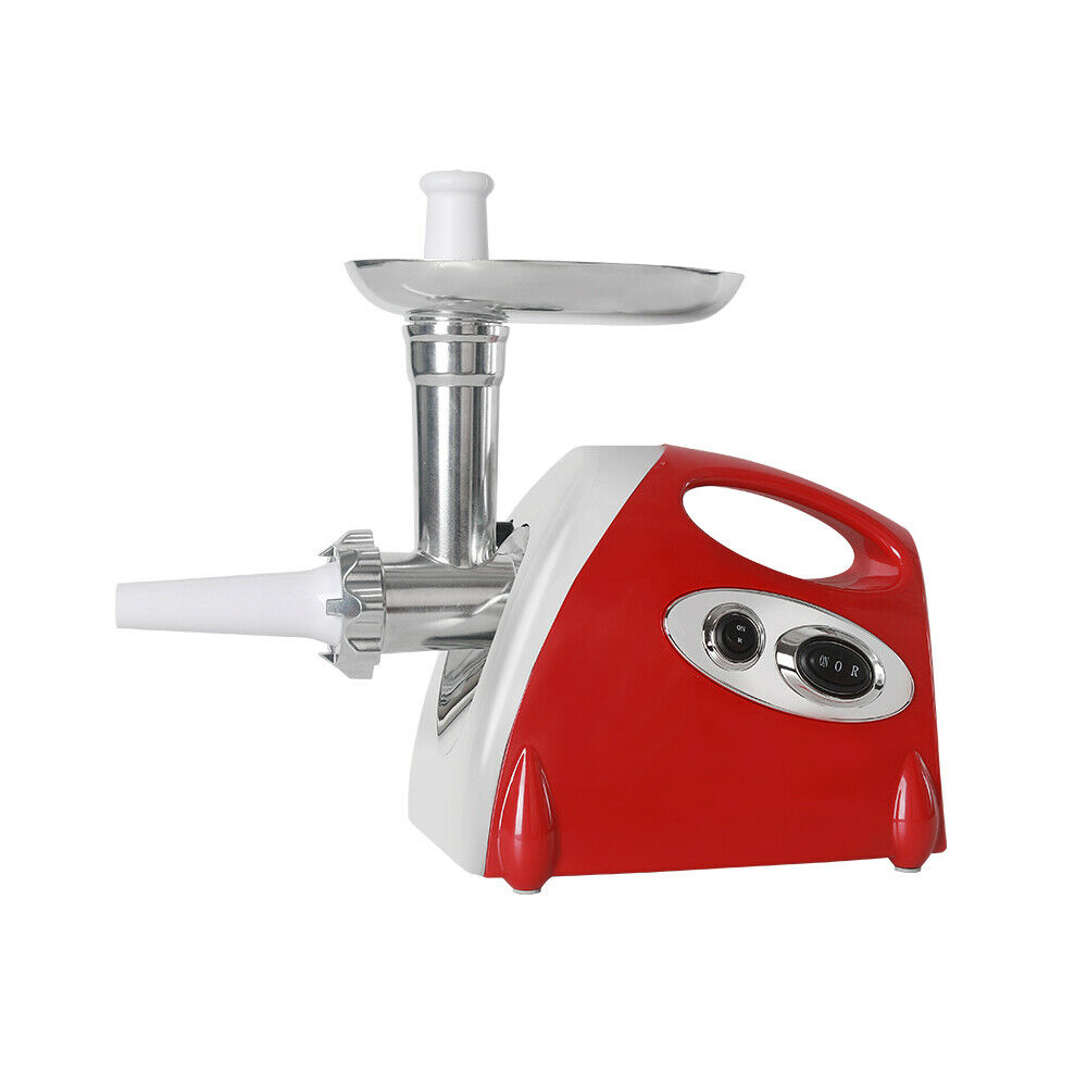 Electric Home Hachoir à viande saucisse Maker Meat Mincer Food Processor 800 W Rouge