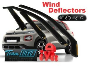 CITROEN-C3-AIRCROSS-2017-5-doors-Wind-deflectors-4-pc-HEKO-12268