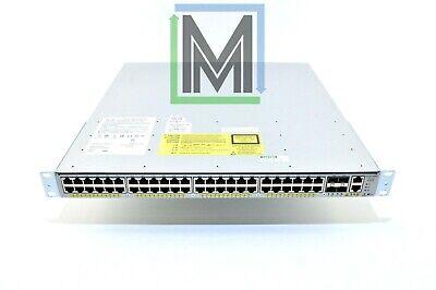 10GB w// Fan Tray /& AC Power 4948E Cisco WS-C4948E-E *15.2 IOS* 48-Port 4x SFP