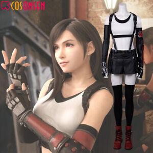Details About Final Fantasy Vii Remake Tifa Lockhart Cosplay Costume Halloween Updated Ver