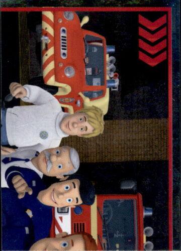 PANINI-Pompier Sam Série 2-toujours en toute sécurité avec Sam-Sticker 165