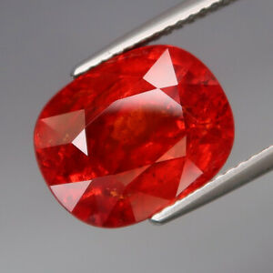 10-48Ct-Best-Color-amp-Full-Fire-Natural-BIG-Imperial-Spessartite-Garnet-Africa