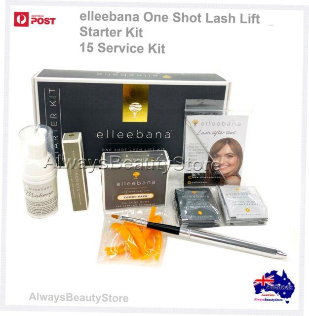ELLEEBANA ONE SHOT LASH LIFT KIT With Silcone Rods