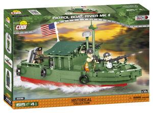 Cobi 2238 (615pcs) - Patrol Boat River MkII (PBR) - Building Blocks Vietnam War