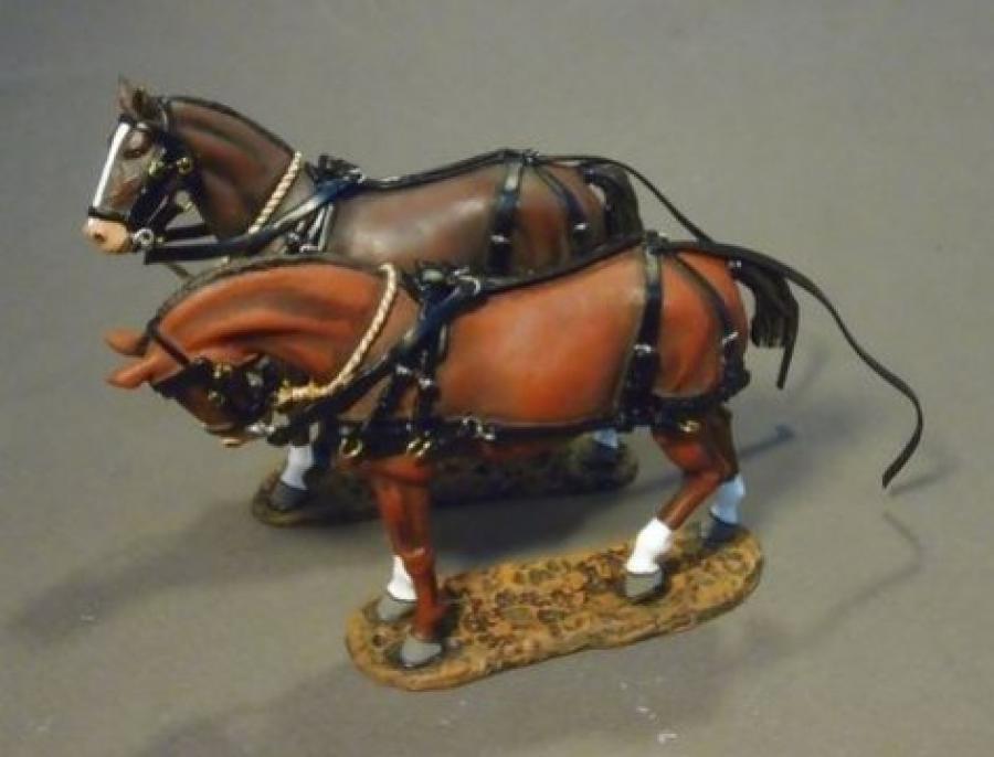 JOHN JENKINS WW1 THE GREAT WAR GWB-17 BRITISH SUPPLY WAGON HORSES MB