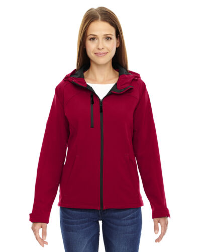 78166 North End Ladies Prospect 2-Layer Hooded Soft Shell Jacket
