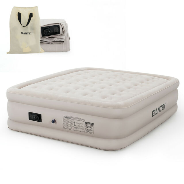 Mersuii Air Mattress Queen Size Portable Inflatable Airbed With