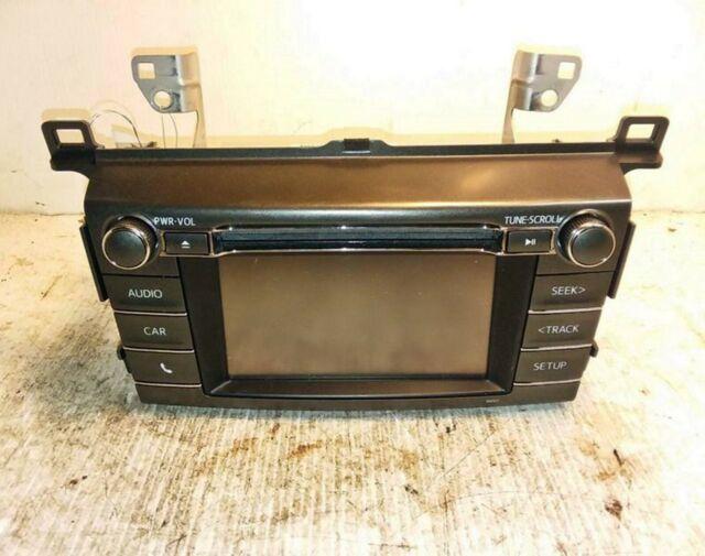 14 15 16 17 18 Toyota Rav4 Radio Stereo CD Player Touch Screen ENTUNE OEM  RAV 4