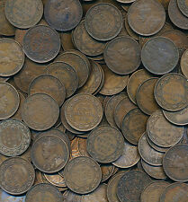 Canada George V 1911-1920 Large Cent BIG Wholesale Lot of 200