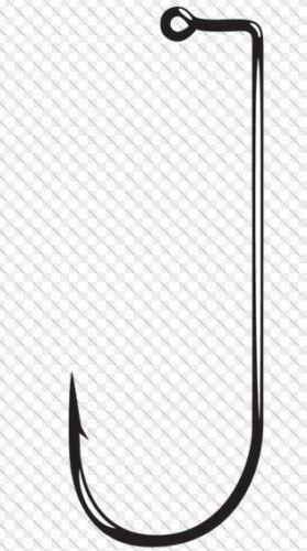 GAMAKATSU #114-90 Degree Round Bend Jig Hooks 25 Hooks #11412-25 Size 2//0