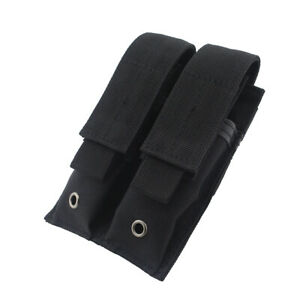 US-Stock-Tactical-Molle-Double-Magazine-Pouch-Pistol-Mag-Holder-for-Hunting