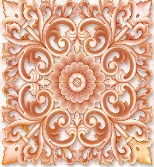 3D Jade Diseños Florales Piso Impresión De Parojo De Papel Pintado Mural Calcomanía 5D AJ Wallpaper