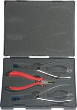 Premium Grade Optician Tools Set Of 3 Rimless Optical Pliers Kit With Metal Case